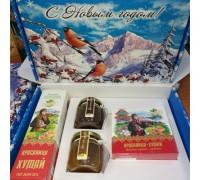 Подарочный набор новогодний «Красавица Хумай» с медом