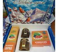 Подарочный набор новогодний «Витаминный» с медом