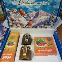 "Gift set with honey new year ""Vitamin»"