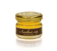 Linden honey, 40 gr.  Cilindr