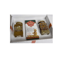 Gift set with honey Kustanas №4