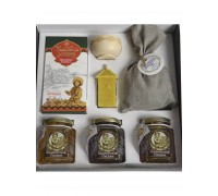 Gift set with honey Kustanas №10