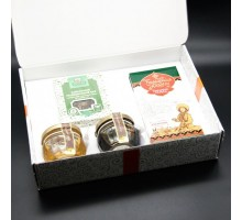 Gift set with honey Kustanas №2