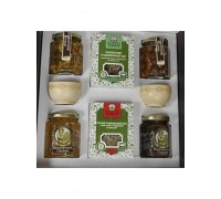 Gift set with honey Kustanas №6