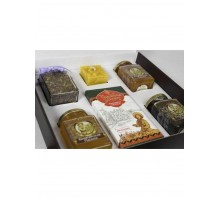 Gift set with honey Kustanas №7