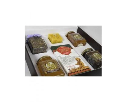 Gift set with honey Kustanas №7