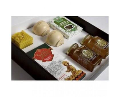 Gift set with honey Kustanas №9