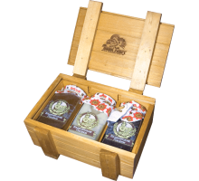 Gift set with honey HONEY BOXE PASEKI 1