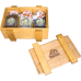 Gift set with honey HONEY BOXE PASEKI PRIZMA