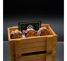 Gift set with honey HONEY BOXE PASEKI 3