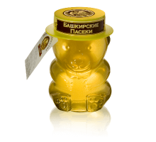 Flower honey, 400 gr.  Bear cub