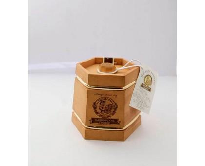 Souvenir with honey dark kadushka 6 sides 300 gr.