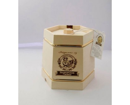Gift with honey Dark frame with hoop 300 gr