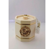 Souvenir with honey Barrel white 8 sides 300 gr.