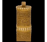 Подарок с мёдом Туес  Оленята  с липовым мёдом 120гр.