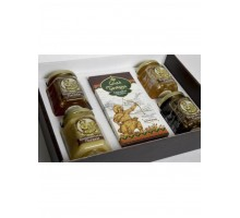 Gift set with honey Kustanas №1