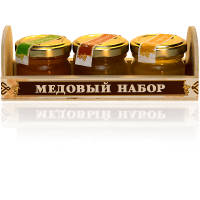 Gift set of 3 kinds of honey for 40 grams