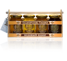 Gift set of 4 kinds of honey for 250 grams