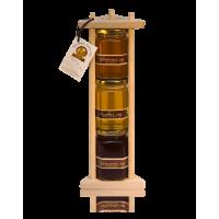 Подарочный набор с мёдом 3*250 Пирамида