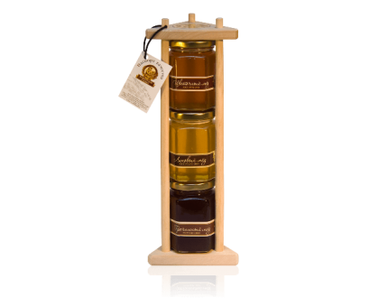 Gift set of 3 kinds of honey for 150 grams