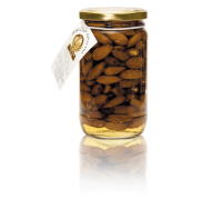 Flower honey with almonds, 440 g