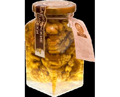 Flower honey with walnut, 220 gr.